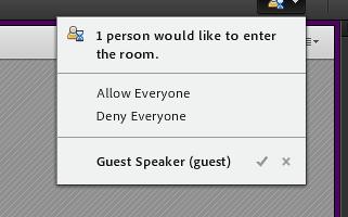 Guest Speaker Enter