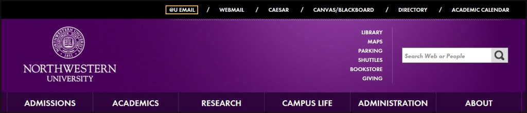 Northwestern University Homepage