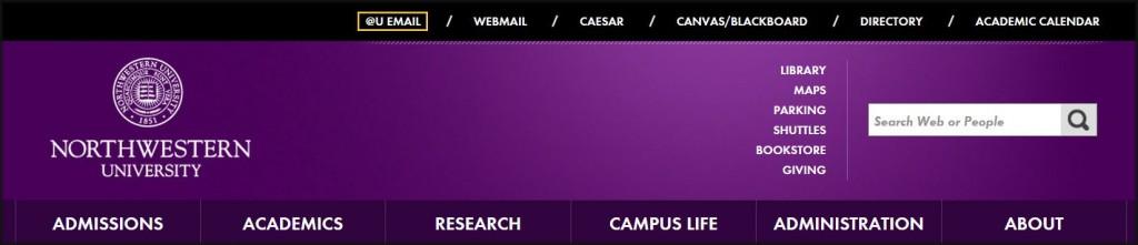 Northwestern University Homepage